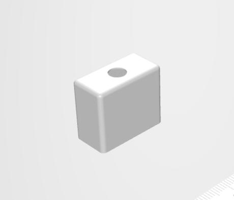洋白材の角絞り加工