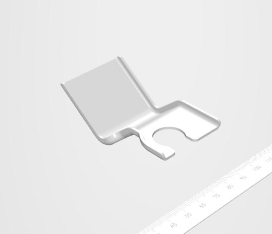 局所絞り成形のブラケット