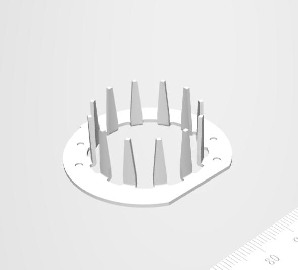 絞り加工による極歯成形